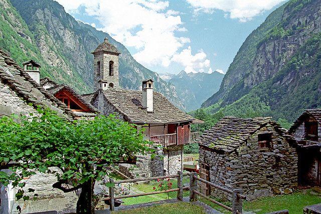 35 Astonishing Places Around the World - Canton Ticino, Switzerland