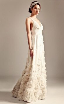 Temperley london long elisha bridal dress