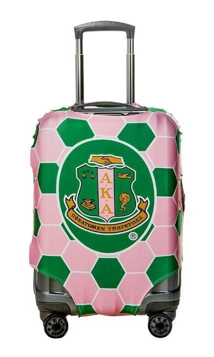 d01d180240 Small Suitcase Cover in 2019   Alpha Kappa Alpha Sorority, Inc.  Paraphernalia   Aka paraphernalia, Alpha kappa alpha, Alpha kappa alpha  sorority
