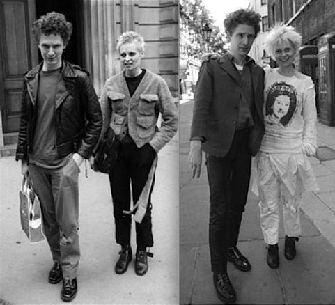 Image detail for -Vivienne Westwood si Malcolm McLaren promoveaza moda punk