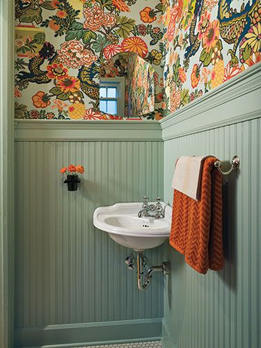23 Gorgeous Ways to Add Some Cheer to Your Bathroom