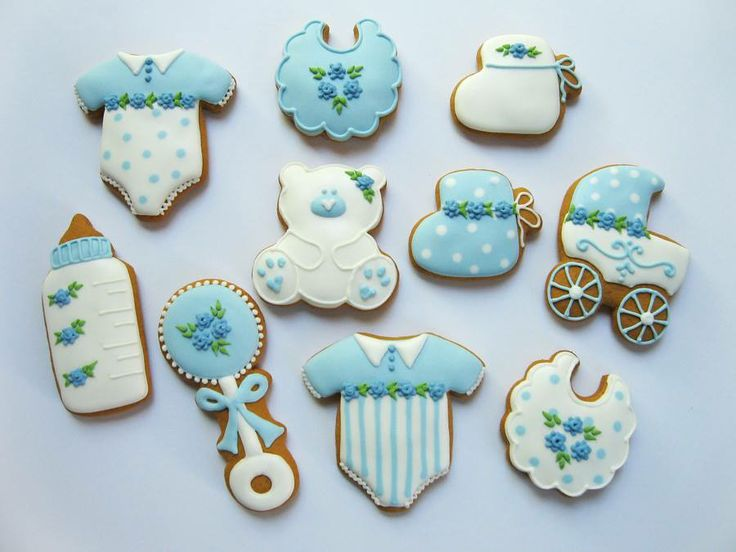 Baby Shower Cookies Boy ~ Baby boy cookies and on pinterest
