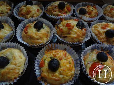 Helen's Home Helen's World: ...ještě jednou ouška a pizza muffiny...