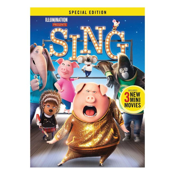 Sing (Dvd), Movies