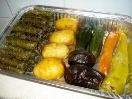 Comida árabe.