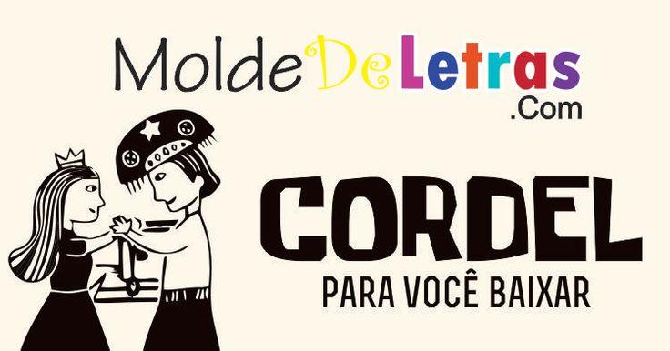 Molde de Letras estilo Cordel