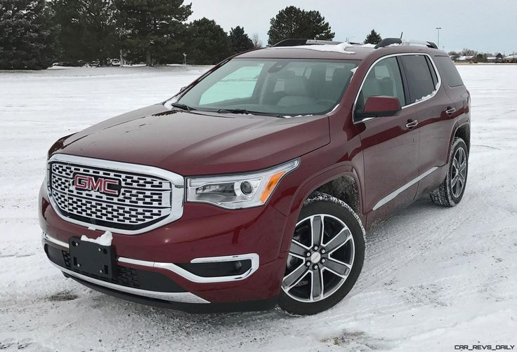 2017 GMC Acadia Denali 5 » Car-Revs-Daily.com