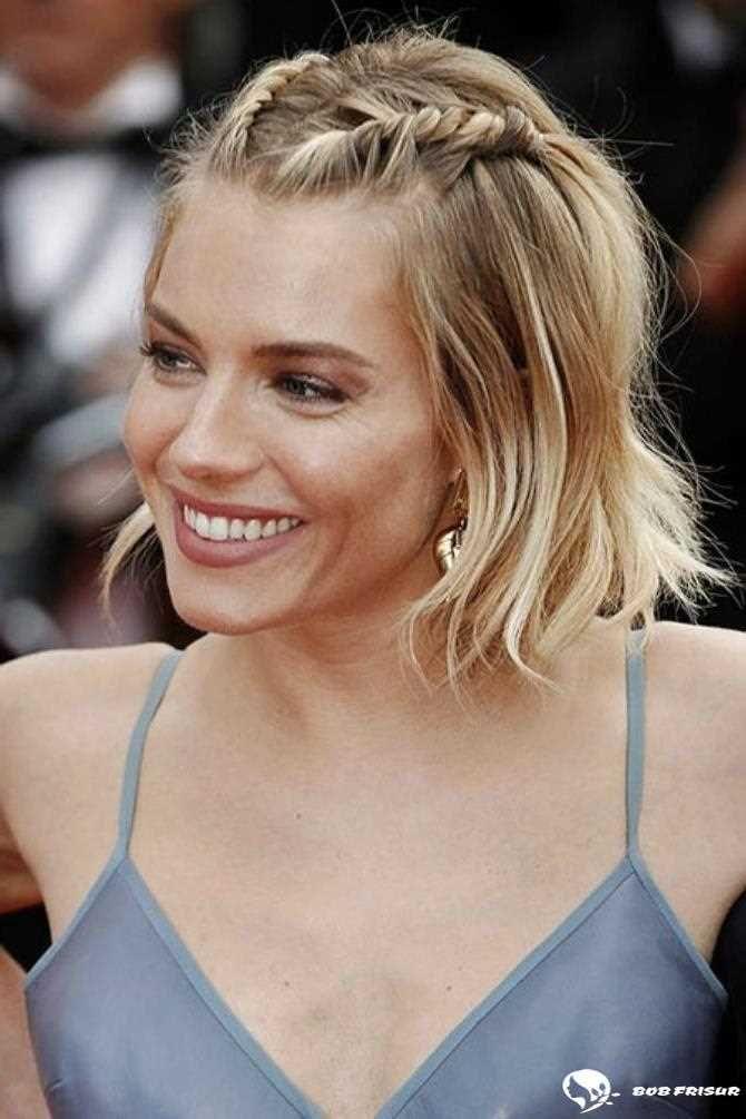 15 leichte Zöpfe für kurzes Haar zum Selbermachen