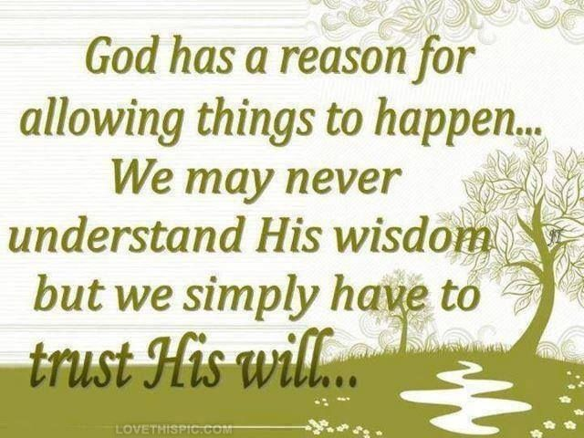 God has a reason quotes quote god life quote religious quote