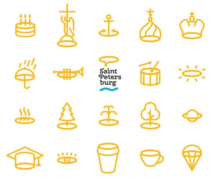 Saint-Petersburg logotype #logotype #city #town #saint #petersburg