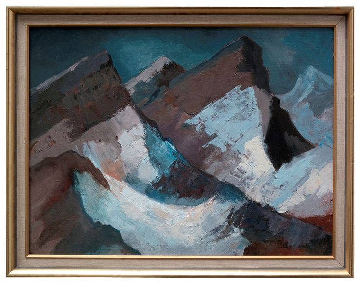 Mountains | Oil on Board | 24 x 18 inches | £3,500 | From 1978
