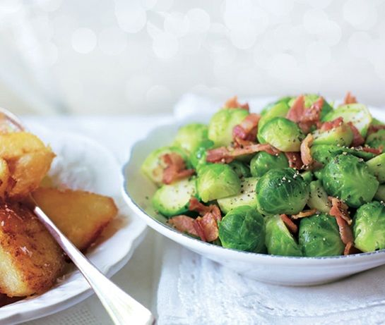 Brussels sprouts with bacon | ASDA Recipes