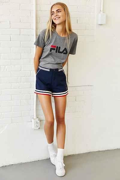 FILA + UO Miss Eagle Logo Tee - Urban Outfitters