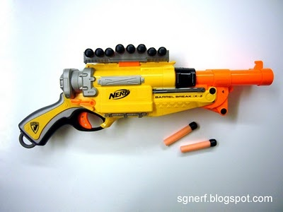 SG Nerf: Nerf Barrel Break IX-2 - Review!