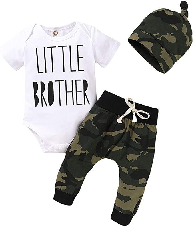 Newborn Baby Girl Clothes Letter Print Romper+Long Pants+Sleeve Set 3PCS Outfits Set,Soft Breathable Fabric