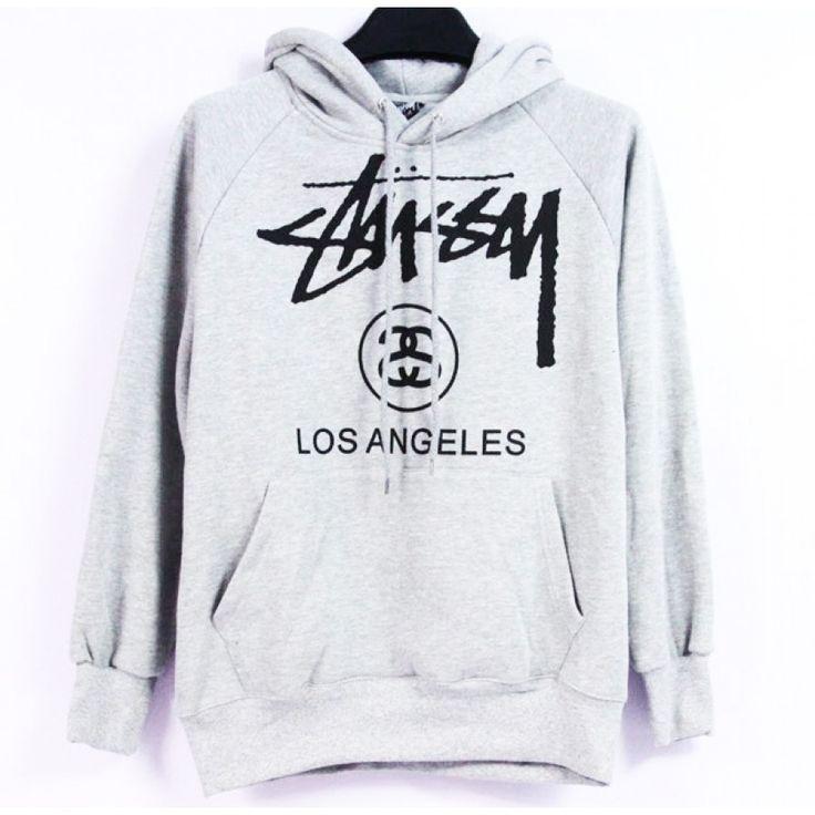 Keep warm with Stussy! Stussy Los Angeles Hoodie   http://streetwearmuse.com/outerwear/hoodies/stussy-los-angeles-hoody-collection-deepluxe-gray-1 #Stussy #hoodie #streetfashion #urbanwear #streetwear