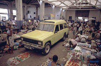 São Tomé market
