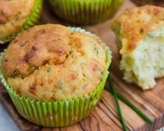 Muffins minceur au fromage ail et fines herbes : Savoureuse et équilibrée | Fourchette & Bikini
