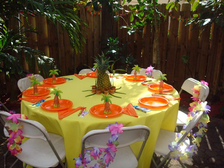 My Beautiful Daughter Lived On Maui For Many Yrs (now Lives In Florida),  She Absolutely Wanted A Hawaiian Theme For Her Baby Shower.