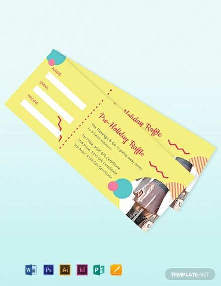 Illustrator Ticket Template