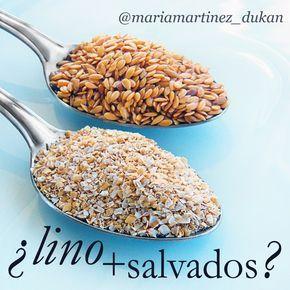 ¿Puedo tomar las semillas de lino además de los salvados de trigo y avena? ¿Puedo tomar las semillas de lino EN LUGAR DE los salvados? #salvadodeavena #dietaDukan