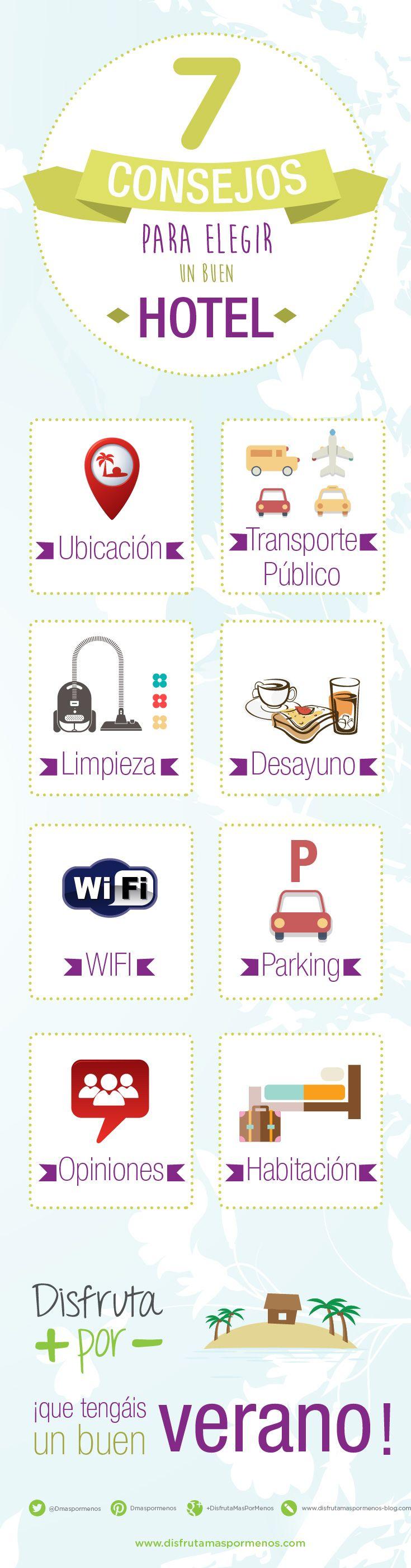 7 consejos para elegir un buen hotel (infografía) - disfrutamaspormenos disfruta+por-
