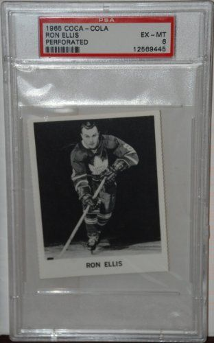 PSA 6 1965 Coca Cola Ron Ellis Toronto Maple Leafs Hockey Card Sold And Photographed By Thegoodoldboys by Coca Cola. $25.00. A great rare item!           ***For anyone that wants to buy more than 1 from me, Thegoodoldboys***  Amazon won't let me fix the shipping, so what has to be done is when you buy multiple items from me, you will get charged shipping for each one.  What I can do is then refund you the excess shipping after I ship everything out to you.