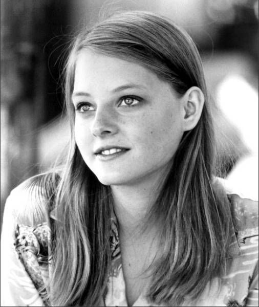 Jodie Foster...been told I look like her. I guess I kinda see it in this picture!