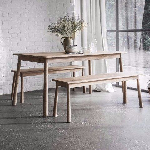 Hudson Living Wycombe Dining And Bench Set