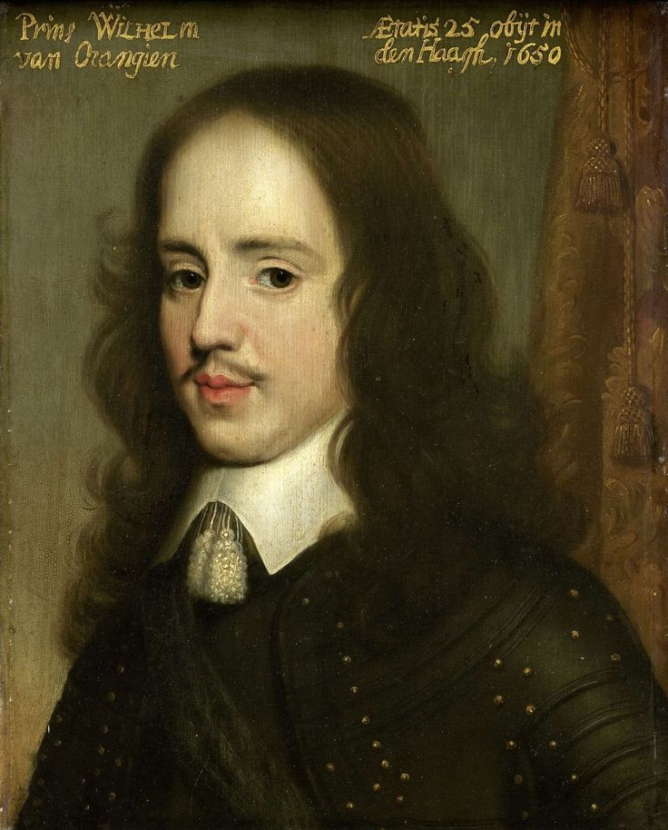 William II (1626-1650), Prince of Orange 1650