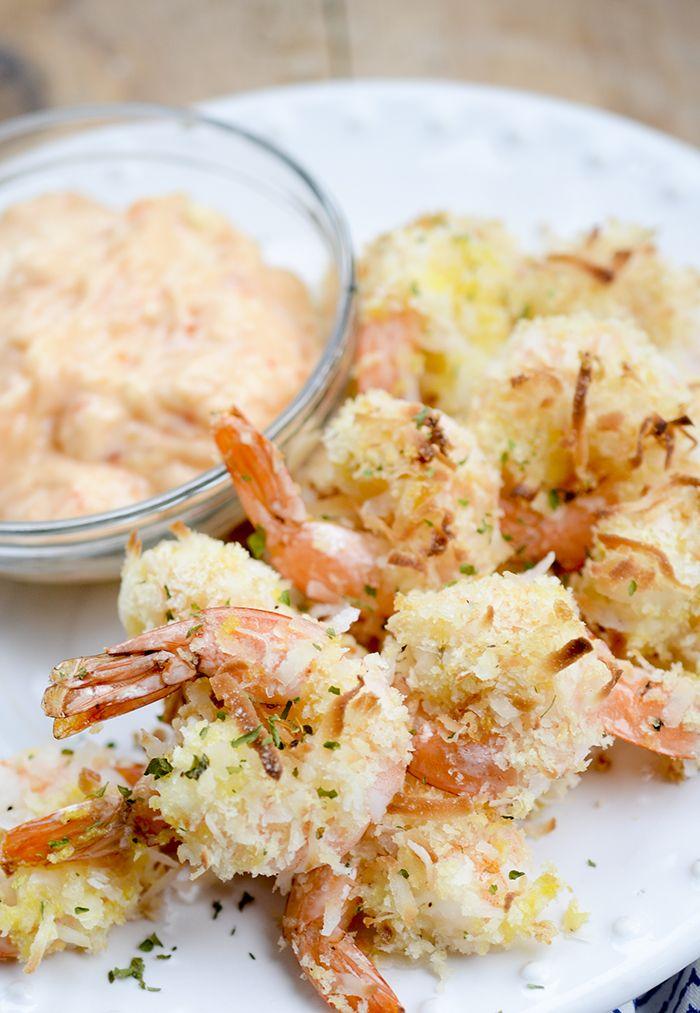 baked coconut shrimp 007