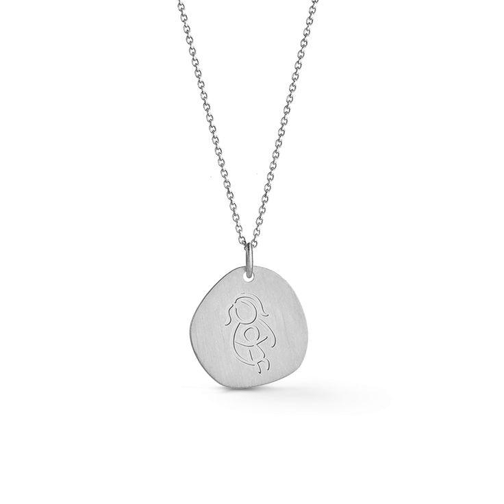 Aldeias SOS Mãe Silver Necklace