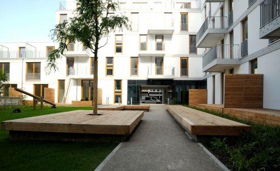 """Projekt """"Wohnanlage Urbanstraße 11 (Außenanlagen)""""...competitionline"""
