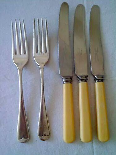 We had this sort of cutlery growing up - and I still have it!