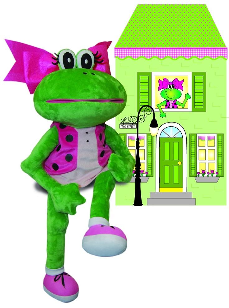 fanny frog puppet