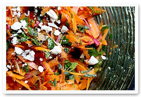 Carrot Salad with harissa