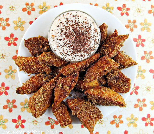 Sweet Potato Pie Dessert Fries with Maple Yogurt Dipping Sauce # ...