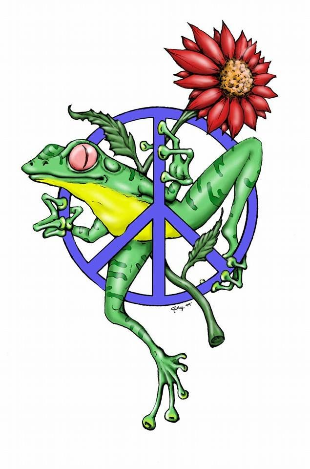 Peace Frog Peace Froggers Pinterest Peace And Frogs