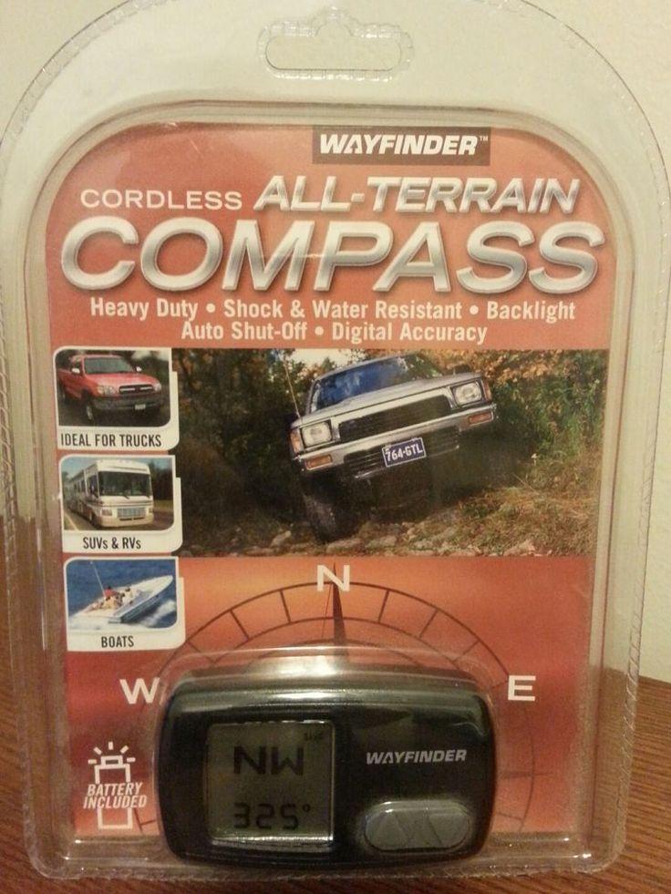 Brand New WAYFINDER Z250 Cordless All-Terrain Digital Compass~Free Shipping #Wayfinder