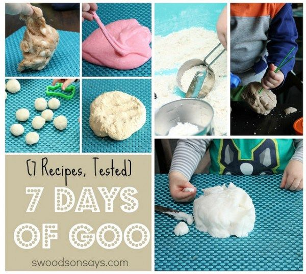7 DIY Play Dough and Goo Recipes, Tested