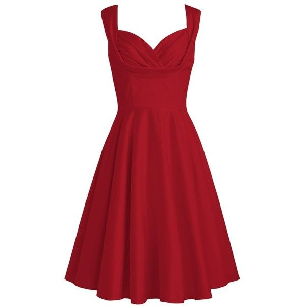 Pleated Satin Dress | Plus and Petite sizes available! Hundreds of... (£17) ❤ liked on Polyvore featuring dresses, red, vestido, red cocktail dress, petite cocktail dress, red dress, petite dresses and petite red dress