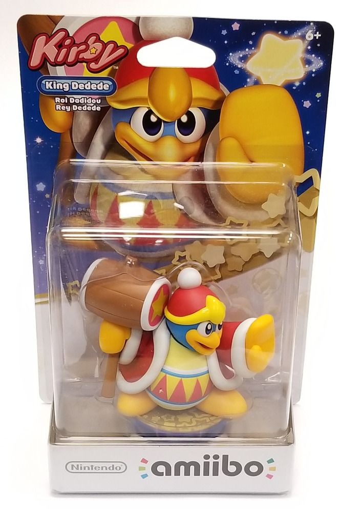 King Dedede Amiibo For Nintendo Wii U 3ds Switch Us Version Rare