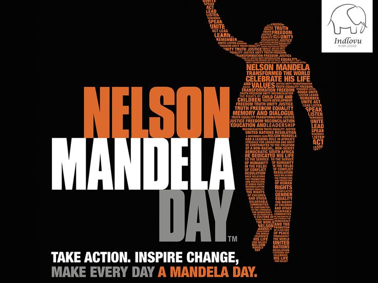 Make everyday a #MandelaDay!