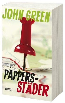"""Mer John Green åt folket! - Ny bloggstafett för John Greens """"Pappersstäder""""."""