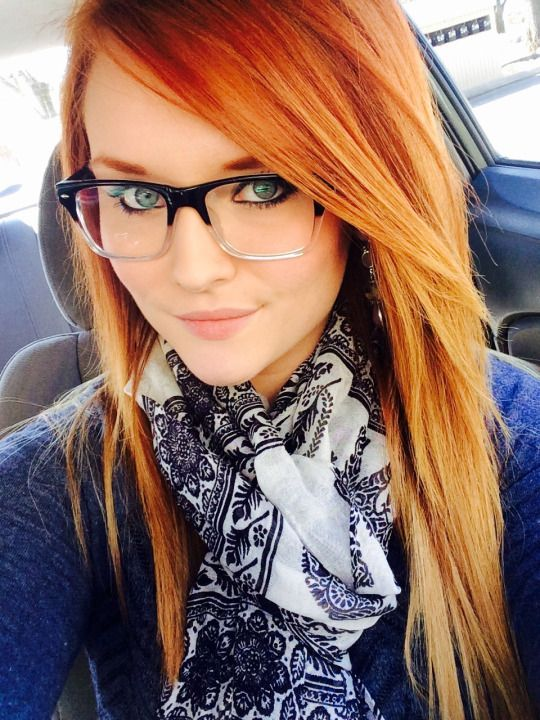 Busty red heads with glasses-5714