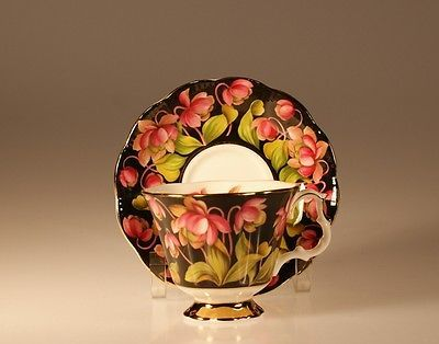 Splendid  British Royal Albert Provincial Flowers Pitcher Plant Cup and Saucer: