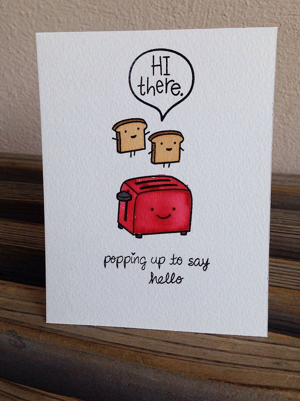 Lawn Fawn Love N Breakfast Chit Chat Super Cute Card