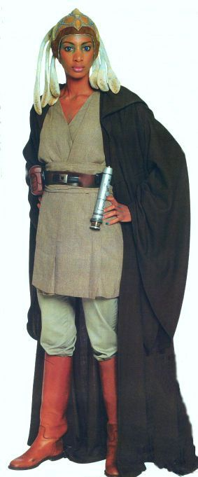 Wouldn't be specifically going for Adi Gallia, just female Jedi clothing reference.