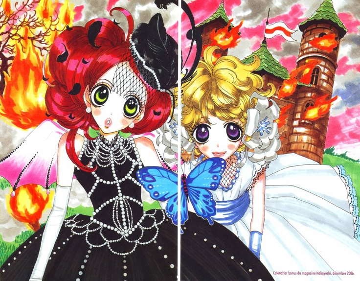 #SugarSugarRune again!! ♥ Love this picture and love #Chocolat (the witch on the left) ♥ #MoyocoAnno