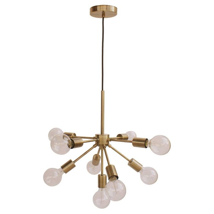 Ceiling Lights Brass - Threshold™. Image 1 of 2.                                                                                                                                                                                 More
